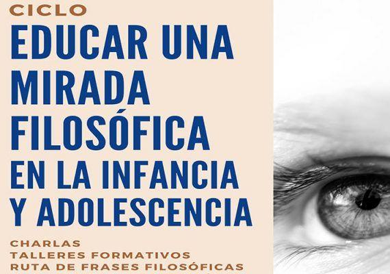 Charla y talleres gratis para educar una mirada filosófica en la infancia y adolescencia en Benalmádena
