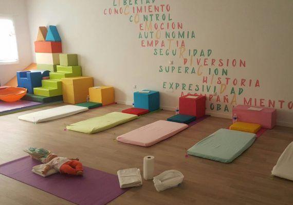 Sala 'Donde crecen las emociones' en Málaga