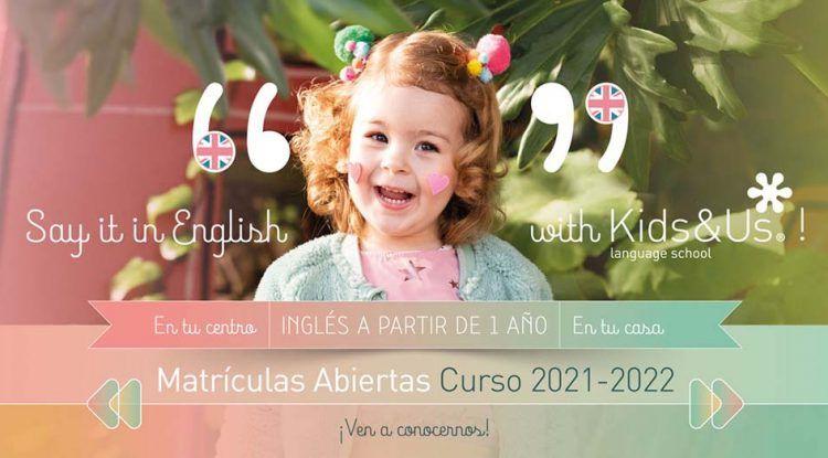 Kids&Us Málaga y Torremolinos abre el período de matriculaciones para el curso 2021-2022