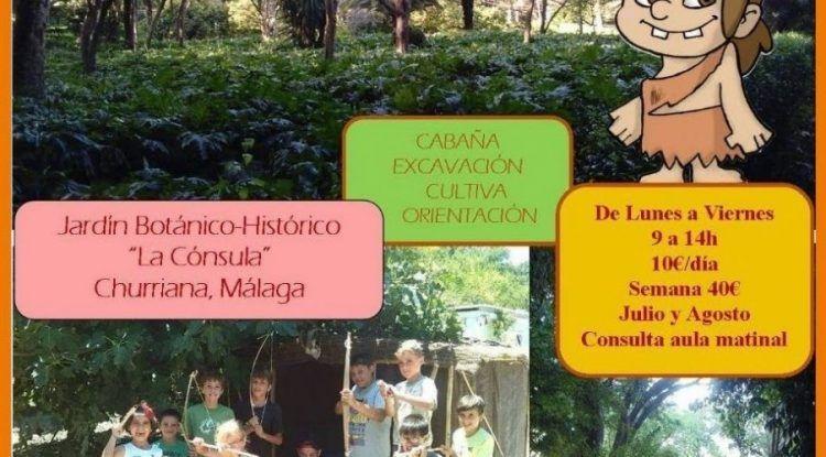 Campamento de verano de Arqueoeduca