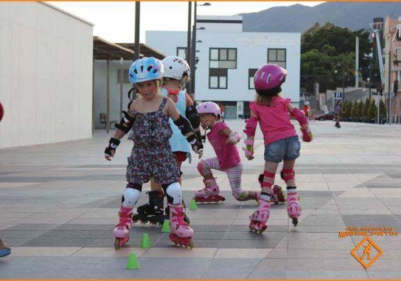Clases de patinaje para niños