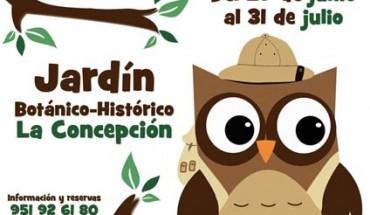 Campamento de verano del Jardín Botánico La Concepción