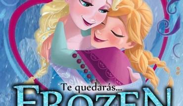Cartel del musical de Frozen en Benalmádena