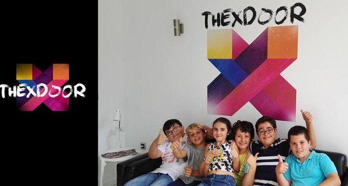 collage niños the x-door
