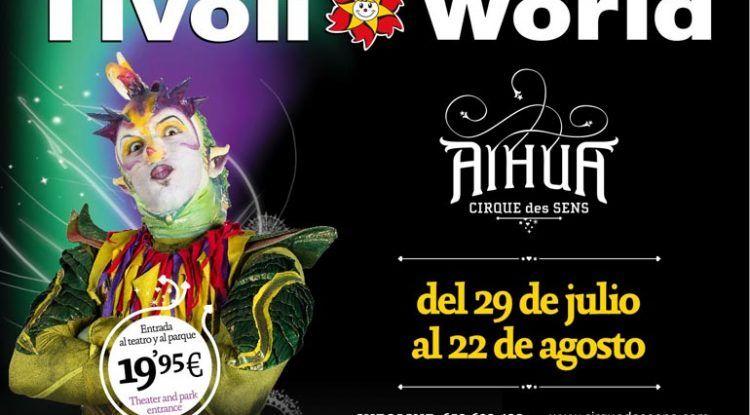 Aihua en Tivoli World