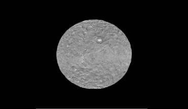 Fotografía de Ceres de la NASA