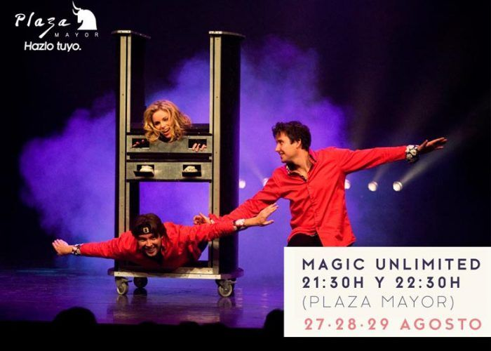 Magic Unlimited en Plaza Mayor