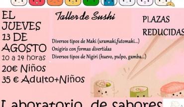 Taller de Sushi para niños