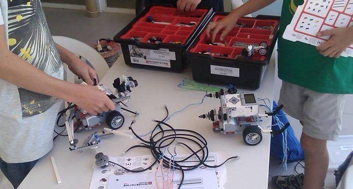 taller robotix niños