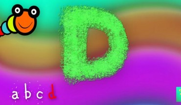 letra d y gusanito