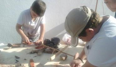 taller arqueoeduca niños