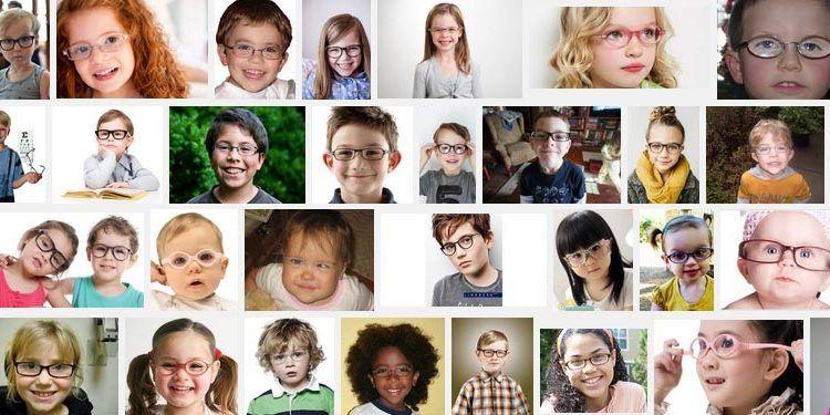 collage pantallazo gafas niños