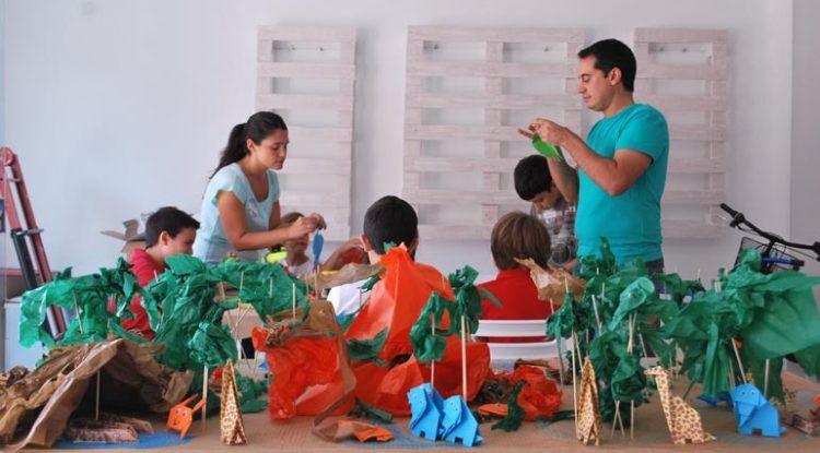Sorteo del taller de Mahatma Liliput