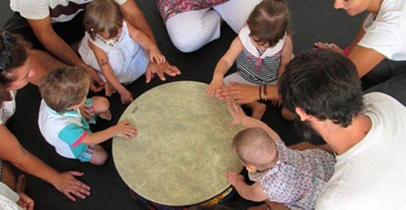 Taller de iniciación musical para bebés