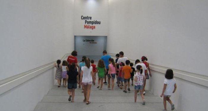 centre pompidou málaga niños