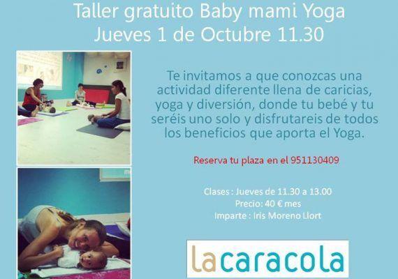 Taller de yoga para bebés y madres