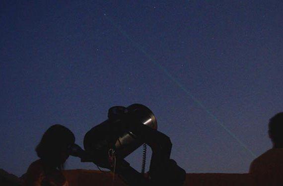 el cielo visto desde observatorio