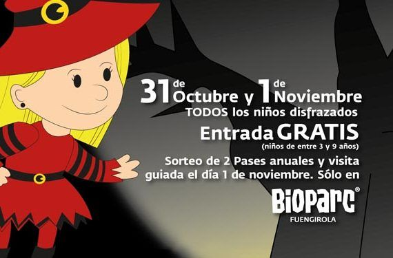 BIOPARC halloween 15 promo
