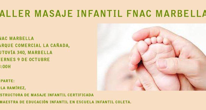 masaje infantil FNAC imagen