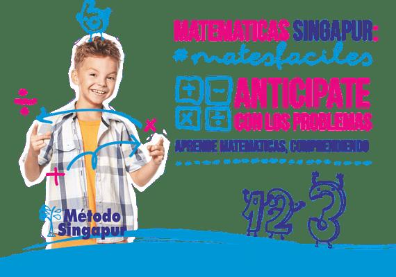 folleto Metodo Singapur niño