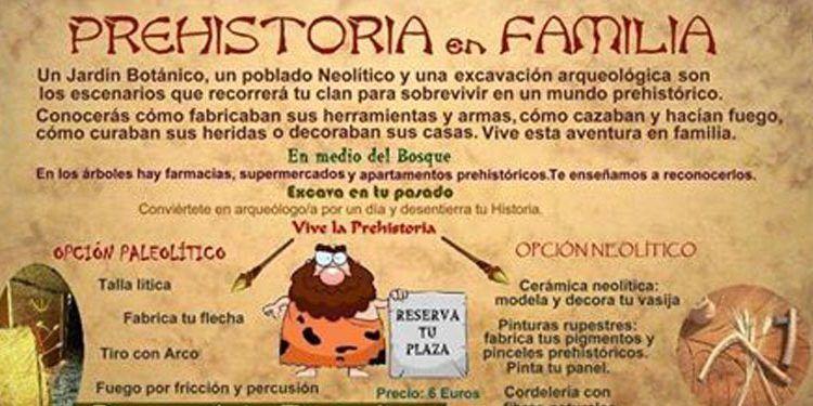 ArqueoEduca Prehistoria en familia cabecera