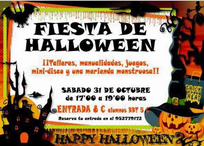 Fiesta de halloween para ni os en marbella la diversiva - Fiesta halloween infantil ...