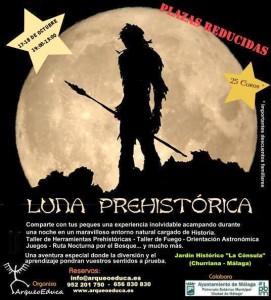 cartel luna prehistórica octubre
