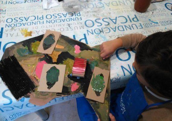 casa natal picasso taller infantil retrato