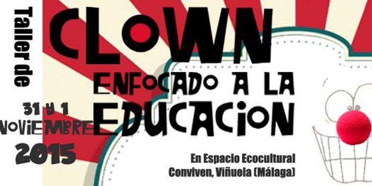 taller clown educacion conviven cabecera