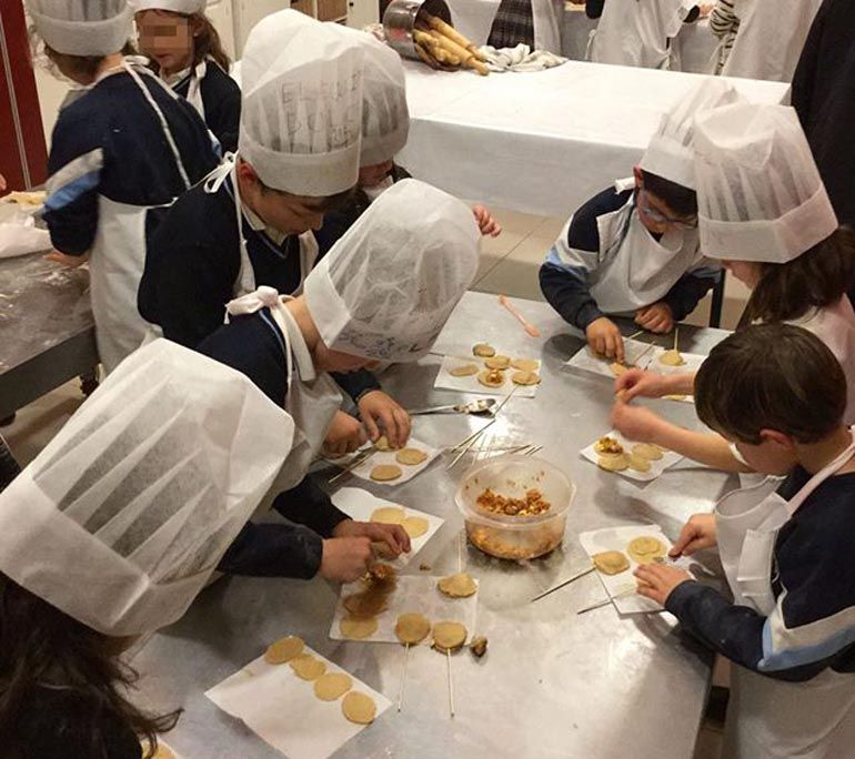 Taller de cocina infantil y…
