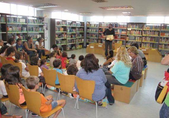 Cuentacuentos en la Biblioteca Provincial de Málaga