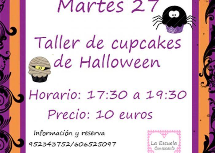 Taller de cupcakes en Málaga sobre Halloween