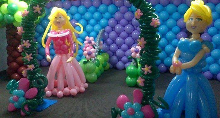 Curso de decoraci n con globos d a 17 la diversiva - Curso decoracion con globos ...