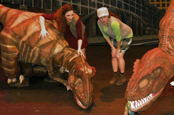 dinosaurio acuario ciudad