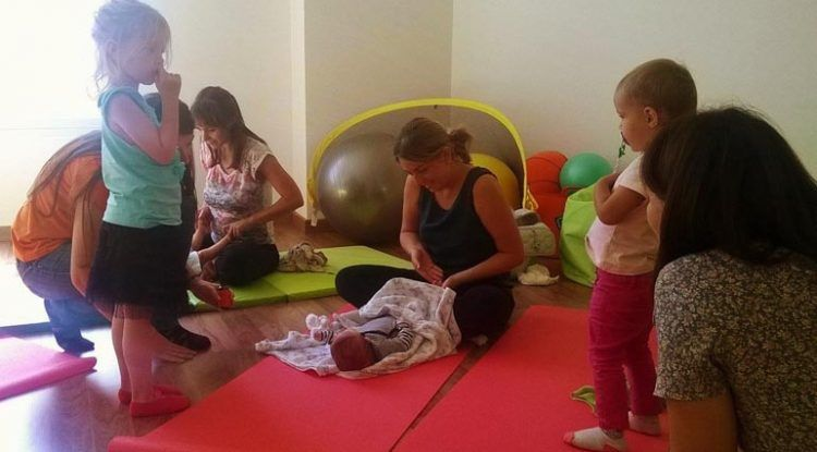 Taller de estimulación temprana para bebés