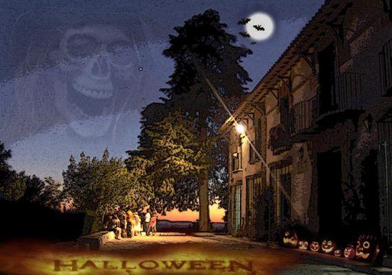 Noche de Halloween en Las Contadoras