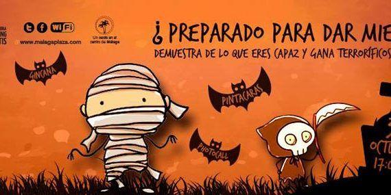 Fiesta de Halloween en Málaga Plaza