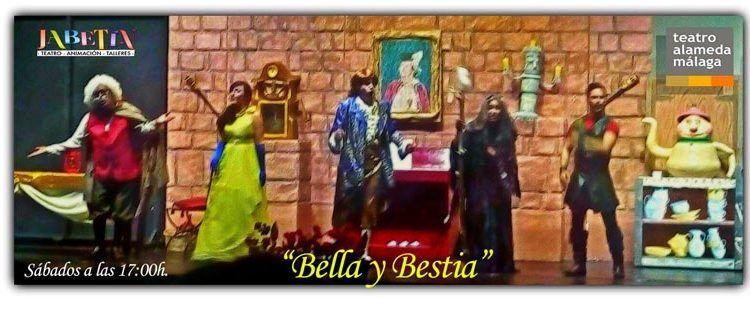 Bella y Bestia en el Teatro Alameda de Málaga