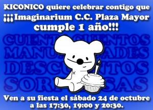 kiconico imaginarium plazamayor fiesta