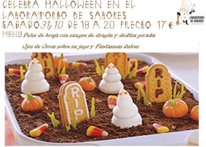 Halloween para niños en Laboratorio de Sabores