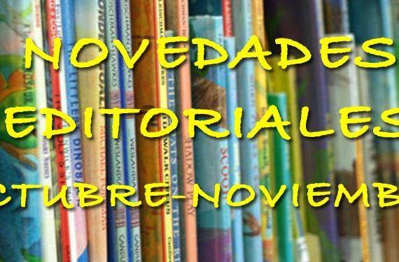 libros 2NOV novedades infantil juvenil cabecera