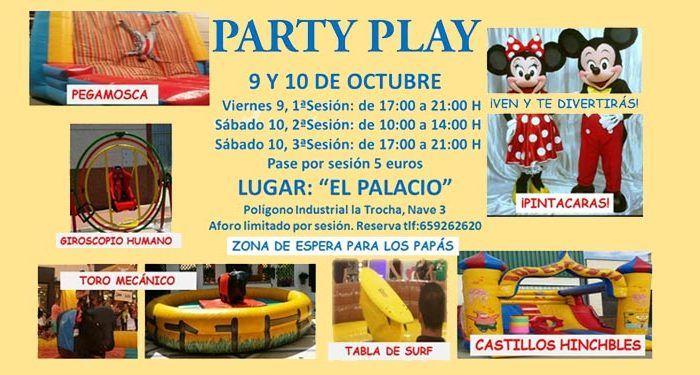 partyplay el palacio coín volante