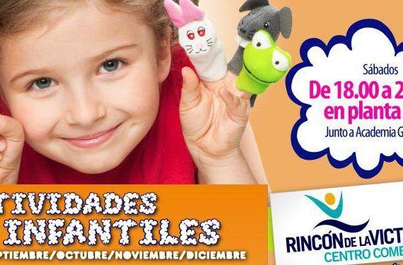 centro rincón programa infantil octubre