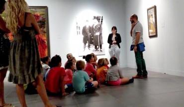 visita niños museo ruso