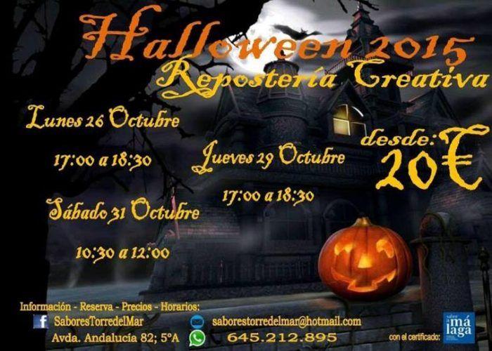 Repostería creativa Halloween