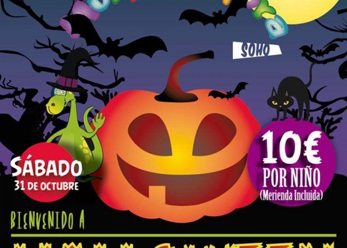 Halloween en Multiaventuras Soho de Málaga
