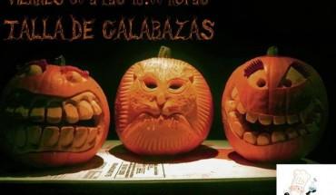 Taller de calabazas Halloween
