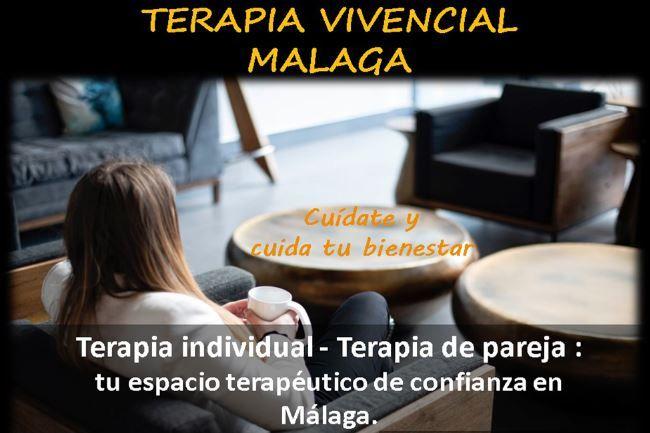 Terapia Vivencial individual y de pareja en Málaga: un espacio de confianza