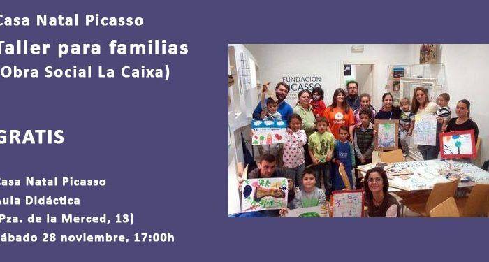 taller familias desempleo casa natal la caixa cabecera