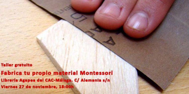 librería agapea cac málaga taller montessori DIY cabecera